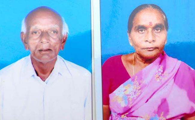 Wife And Husband Died With Covid In Khammam District - Sakshi