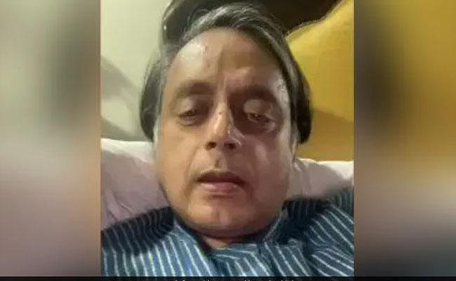 Vaccine Policy Shashi Tharoor  Message Video - Sakshi