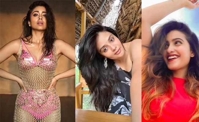 Social Halchal : Shriya Saran,Janhvi  Kapoor,Sreemukhi, Deepika Pilli Photos - Sakshi