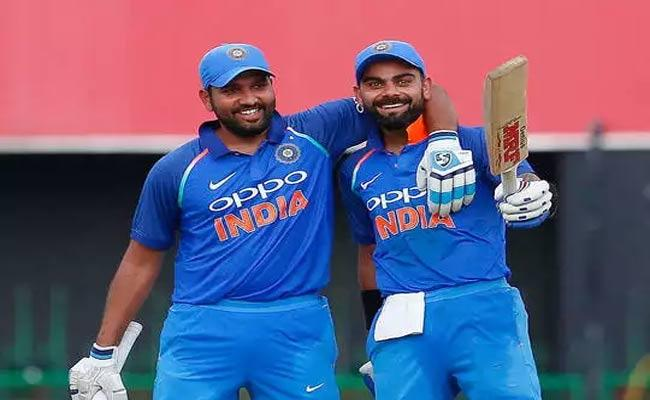 Virat Kohli And Rohit Sharma Hold Onto 2nd And 3rd Spot In ICC ODI Rankings - Sakshi