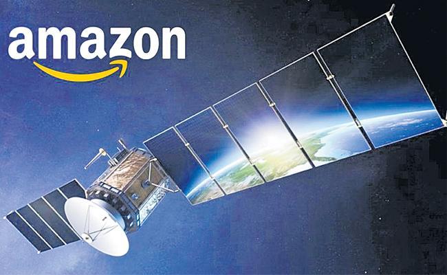Amazon Eyes Satellite Internet Space In India - Sakshi