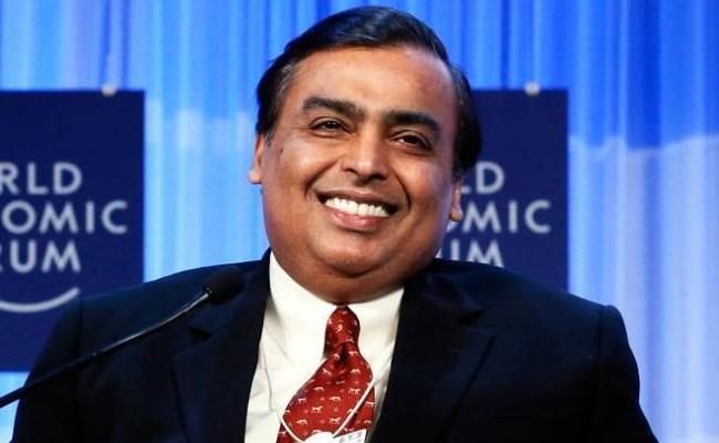 Mukesh Ambani Net Worth Jumps by 6 2 Billion Dollars in a Week - Sakshi