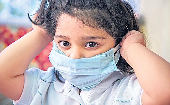 Face Masks for Children During COVID-19 - Sakshi
