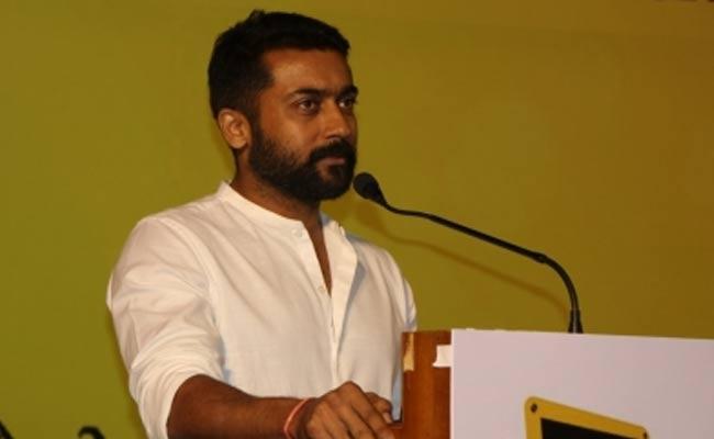 Suriya Demands Scrap NEET And BJP Leaders Fire On Kollywood Star - Sakshi
