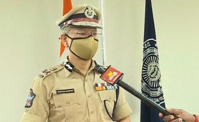AP DGP Gautam Sawang Over Lovers Attacked At Guntur Tadepalli - Sakshi