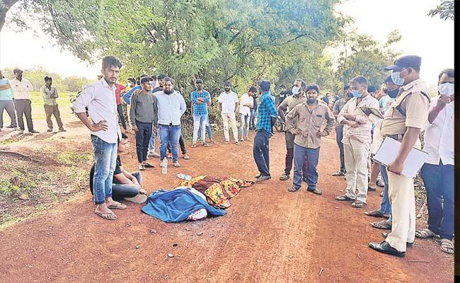 A Man Assassinated Due To Land Conflicts In Medak - Sakshi
