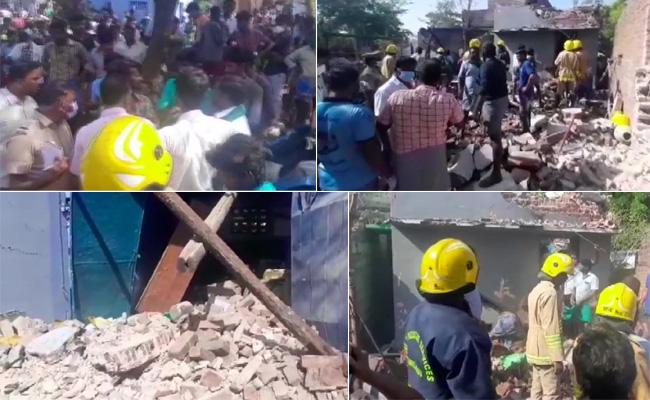 Tamil Nadu: Two Dead in Explosion At Illegal Firecracker Factory - Sakshi