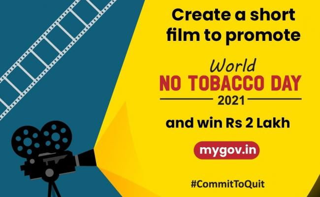 creating short films on world no tobacco day government give rs 2 lakhs - Sakshi
