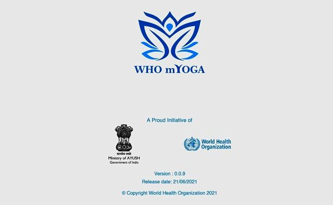 MYoga App Launched On International Yoga Day - Sakshi