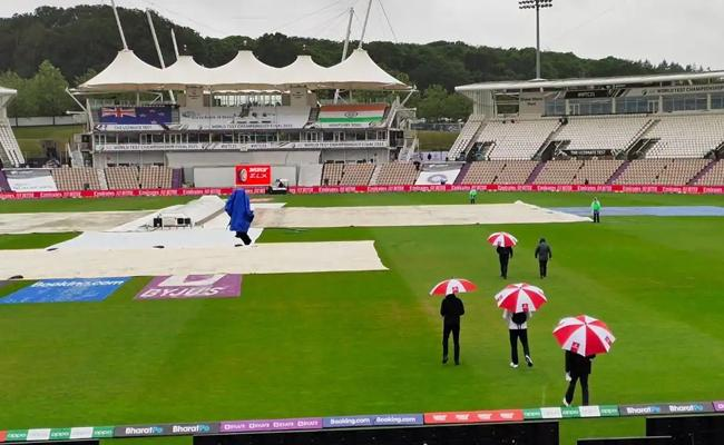 Wtc 2021 Final Day 4: Start Delayed Due to Rain India New Zealand - Sakshi