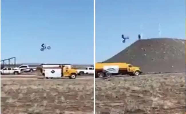 Stuntman Alex Harvill Succumb Attempting World Record Jump In Washington - Sakshi