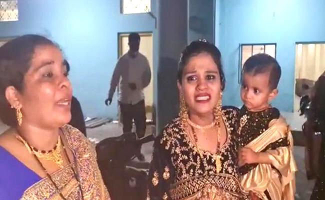 Crooks Attack On Birthday Event On Nampally - Sakshi