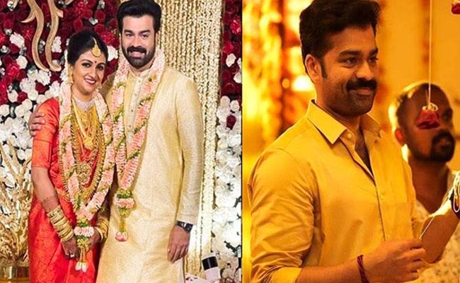 Actor Arjun Nandakumar and Divya Pillai Got Married - Sakshi