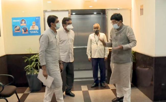 Buggana Rajendranath Reddy Met With Central Minister Piyush Goyal Delhi - Sakshi