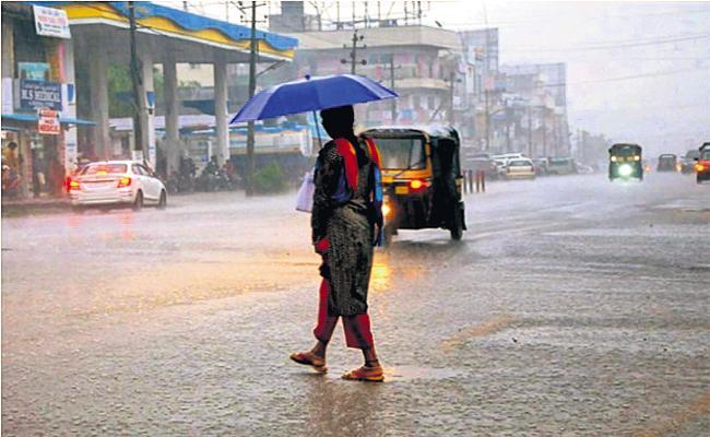 Moderate rain for the next two days in Andhra Pradesh - Sakshi