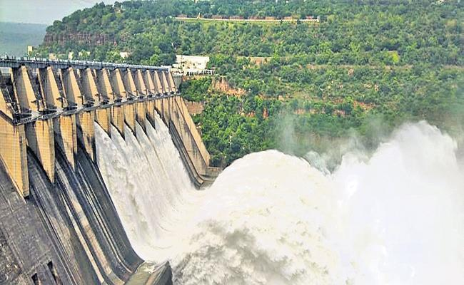 Krishna River Water To Srisailam By The End Of June - Sakshi