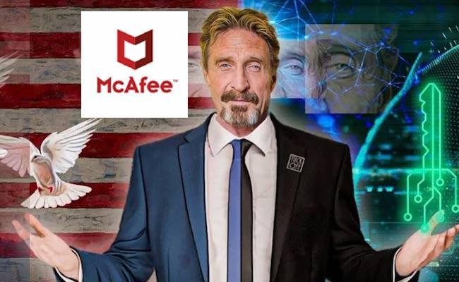 Anti Virus McAfee Founder McAfee Found Lifeless In Spain Jail  - Sakshi
