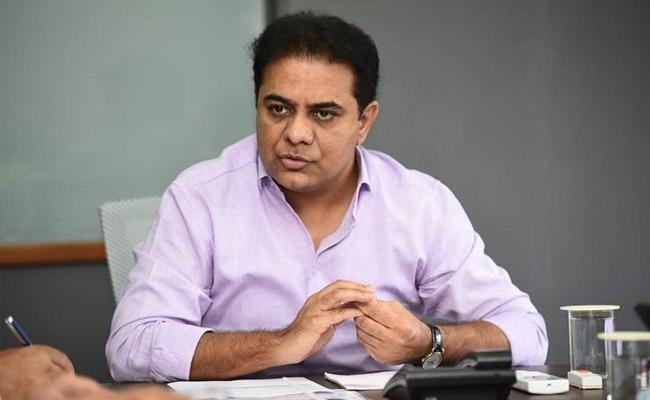 Minister KTR Review Meeting With Officials On Rainy Season Effects GHMC - Sakshi