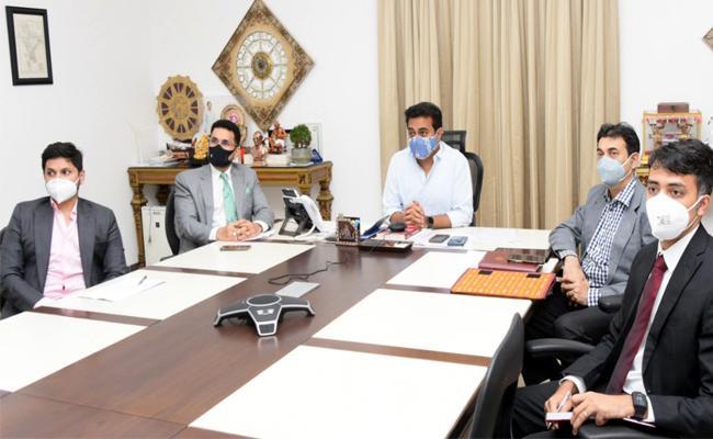 Big Update MoU is signed between Triton EV & Govt of Telangana Today, Minister KTR signed Behalf Of Telangana Government - Sakshi