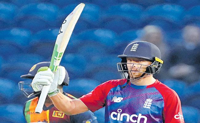 England beat Sri Lanka by five wickets in second T20 to win series - Sakshi