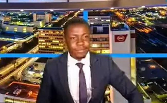Not Paid Salaries Yet Zambian TV Anchor Frustrate On Live Bulletin Viral - Sakshi