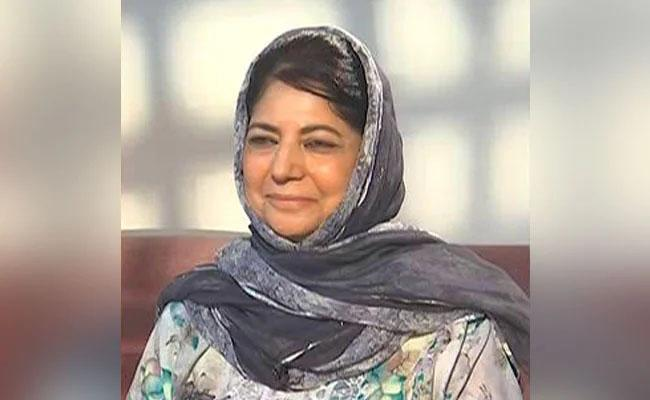 Mehbooba Mufti Said Will Not Contest In Elections Until Article 370 Bring Back - Sakshi