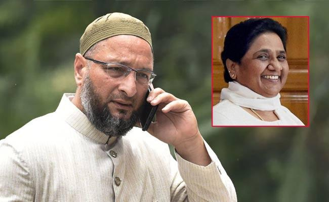 Mayawati Condemns Claims About Alliance With AIMIM For UP polls - Sakshi