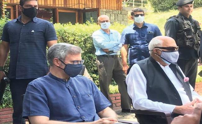 Omar Abdullah Seeks Delimitation, Jammu Kashmir Statehood Before Election - Sakshi
