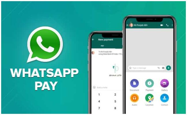 how to send money transfer through whatsapp in india - Sakshi