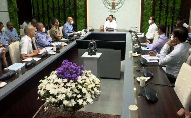 CM YS Jagan Review Meeting On Covid Control Actions And Vaccination At Tadepalli - Sakshi