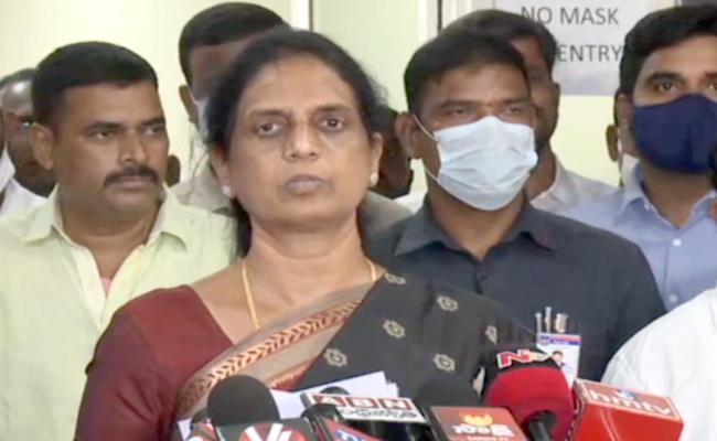 Sabitha Indra Reddy: Online Classes Will Start From July 1 KG To PG - Sakshi