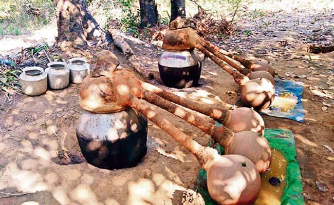 Alcohol Sellers Attack Grama Volunteer In Krishna District - Sakshi