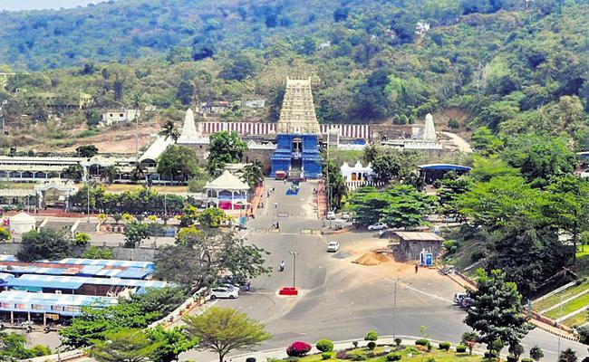 Simhachalam Srilakshmi Narasimhaswamy Temple Lands scam Daily affair - Sakshi