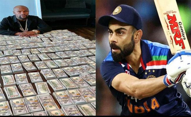 US Boxer Floyd Mayweather Earned Rs 743 Crore In A Day Where Virat Kohli Earns Only Rs 196 Crore In A Year - Sakshi