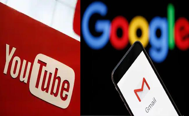 Google restores YouTube, Gmail services after multiple users face outage - Sakshi