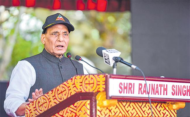 Indian Army Had Capability To Give Befitting Reply To Every Challenge - Sakshi