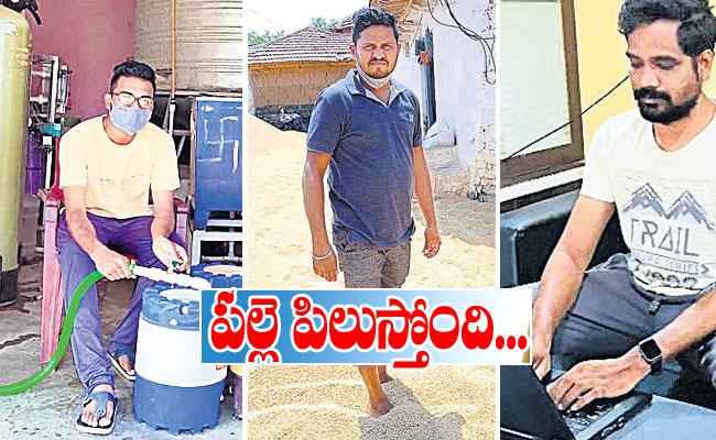 Reverse Migration: Daily Labour, Private Employees Return to Villages in Telangana - Sakshi