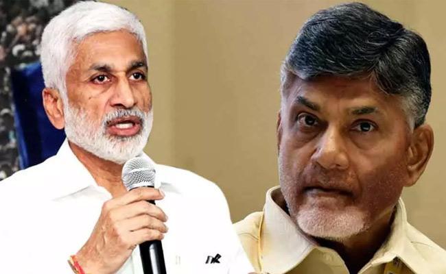 MP Vijayasai Reddy Comments On Chandrababu And Lokesh - Sakshi