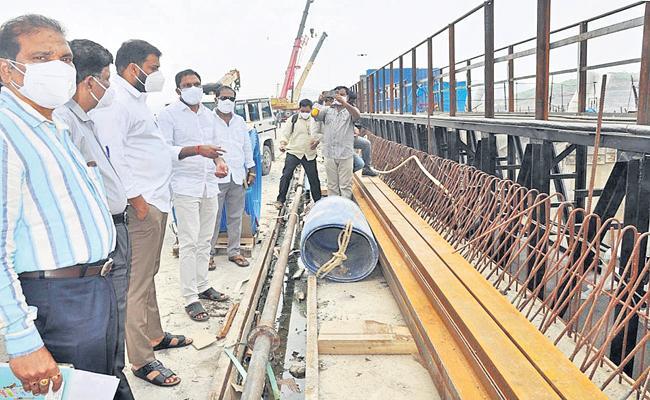 Anilkumar Yadav Says That Polavaram water for the coming kharif season - Sakshi