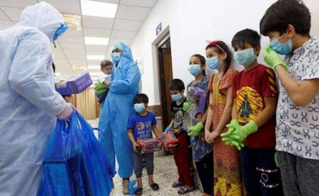 Fewer Deaths If Better Prepared For 3rd Wave Vaccinate Children: SBI - Sakshi
