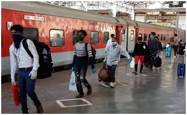 Indian Railways To Resume Special Trains From June 5 - Sakshi