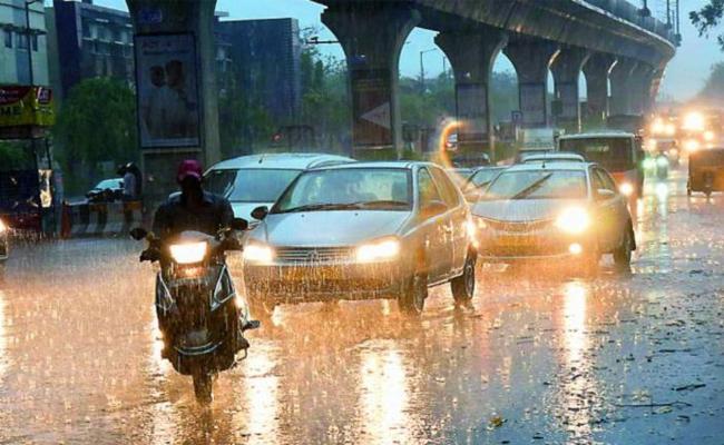 Rainfall In Telangana Districts - Sakshi