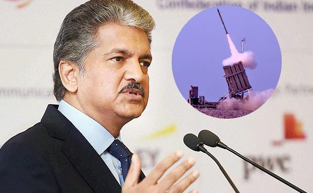 India Should use Israeli-Type Iron Dome to Deter Drone Attacks - Sakshi
