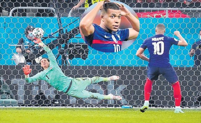 Switzerland Stuns France On Penalties To Reach Euro 2020 Quarters - Sakshi
