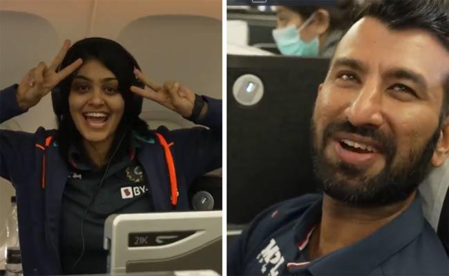 WTC FINAL: BCCI Shares Team Indias Entire Journey From Mumbai To Southampton - Sakshi
