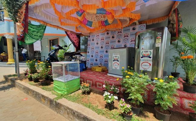 Tamil Nadu: Free Biryani Chance Win Lucky Draw Covid19 Vaccine Kovalam - Sakshi