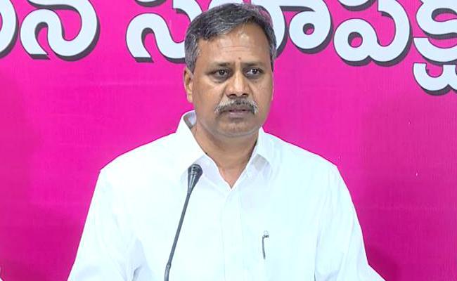 TRS Leaders Counters On Etela Rajender Comments - Sakshi