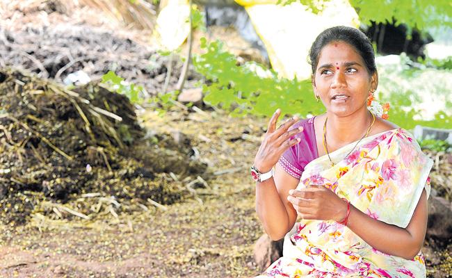 Woman turns water champion in remote Thamballapalle - Sakshi