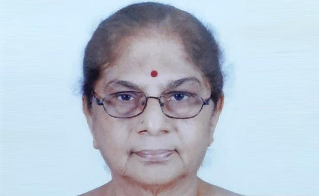 C Madhava Rao Wife Last Breath Due Coronavirus - Sakshi