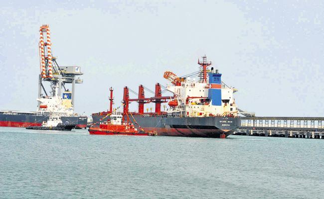 Committee on Gangavaram Port Merger at Adani Port - Sakshi